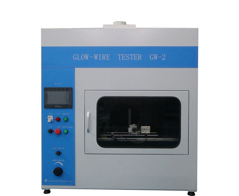 IEC60695-2-10 IEC Test Equipment Glow Wire Tester PLC Control For Fire Hazard Testing With Infrared Remote Control