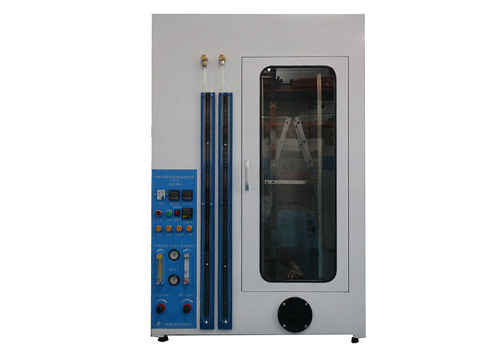 IEC60332 Flammability Testing Equipment , Single Cable Vertical Burning 1 M³Electrical Control Test Chamber 1000w